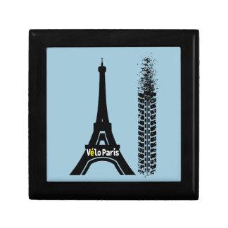 Velo Paris Bike Eiffel Tower Jewelry Box