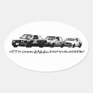VeloceE30 Promo Oval Sticker