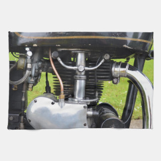 Velocette Engine Hand Towel