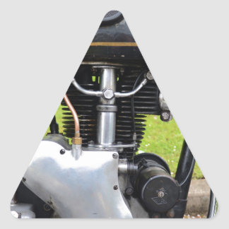 Velocette Engine Triangle Sticker