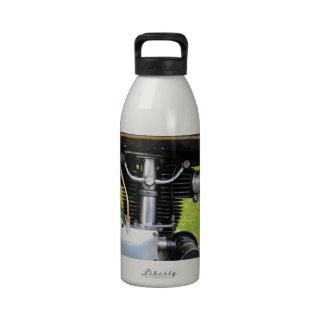 Velocette Engine Water Bottle