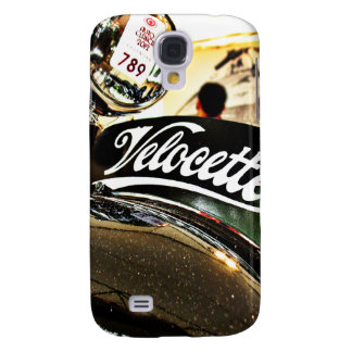 Velocette M Series vintage motorcycle Galaxy S4 Cover