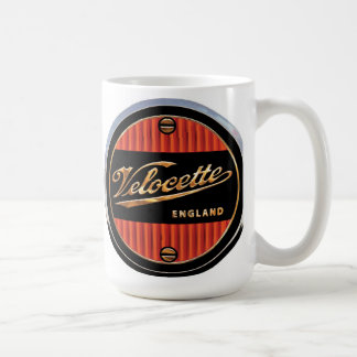 Velocette motorcycles sign coffee mug