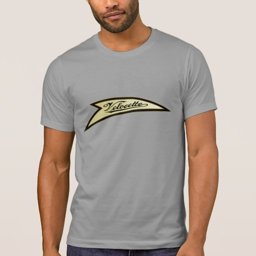VELOCETTE VINTAGE MOTORCYCLE. T-SHIRTS