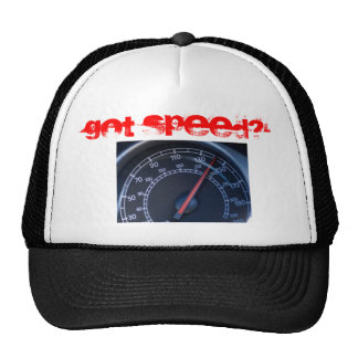 ¿Velocidad conseguida? Gorras De Camionero