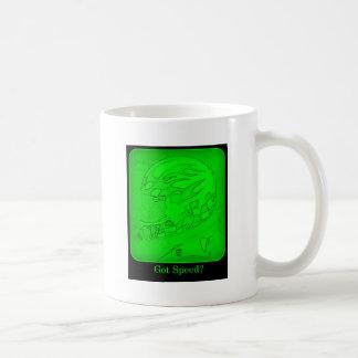 ¿Velocidad conseguida? Verde Taza Clásica