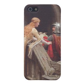 ¡Velocidad de dios - Edmund Blair Leighton iPhone 5 Carcasa