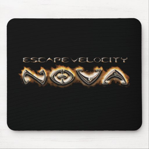 Velocidad de escape Nova Mouse Pad