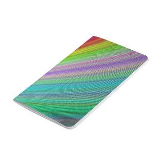 Velocidad del arco iris cuaderno grapado