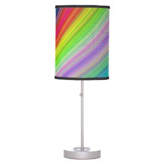 Velocidad del arco iris lámpara de mesilla de noche