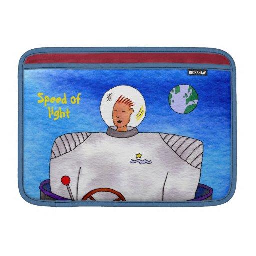 Velocidad del hombre del espacio de TinCan de la l Fundas MacBook