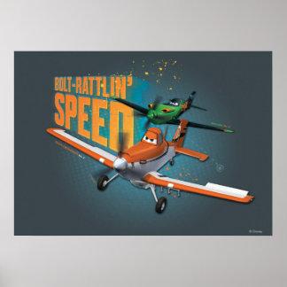 Velocidad del Perno-Rattlin' Posters