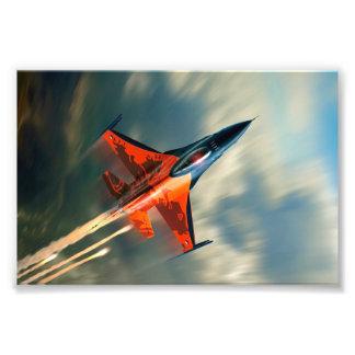 Velocidad militar del aeroplano del avión de cojinete