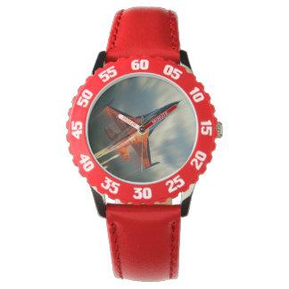 Velocidad militar del aeroplano del avión de relojes de pulsera