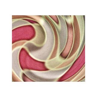 Velocidad viva lienzo envuelto para galerías