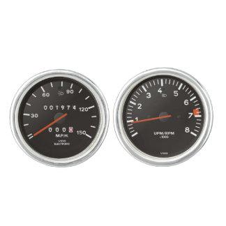 Velocímetro de la obra clásica 911 (coche gemelos