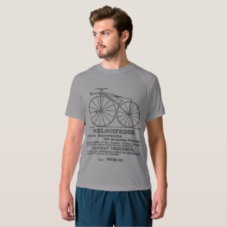 Velocipede Cycling Tee Shirt