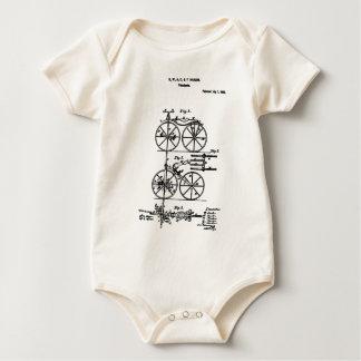 Velocipede Hanlon 1868 Baby Bodysuit