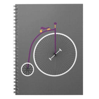 Velocipede Spiral Notebook