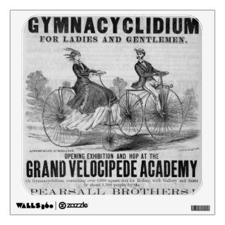 Velocipede Wall Decal