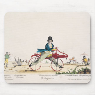 Velocipedes Mouse Pad