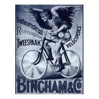Velocípedos de Bingham y del Co. Postales