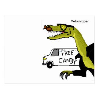 Velociraper Postcard