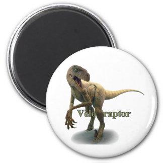 Velociraptor 2 Inch Round Magnet