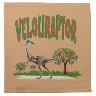 Velociraptor American MoJo Napkin