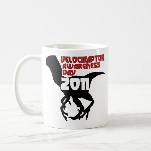 Velociraptor Awareness Day 2011 Classic White Coffee Mug