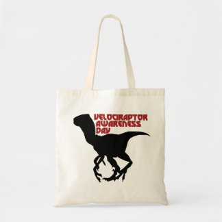 Velociraptor Awareness Day Bags