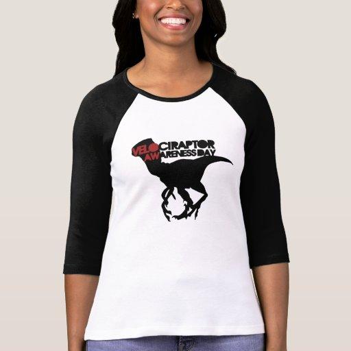 Velociraptor Awareness Day Tees