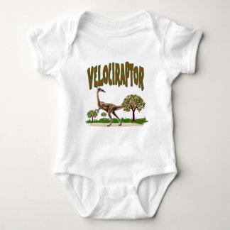 Velociraptor Baby Bodysuit