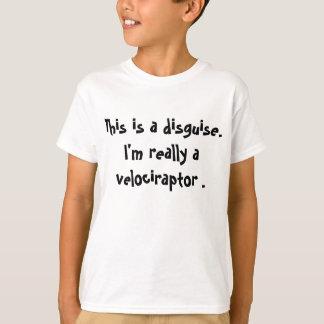 Velociraptor Costume T-Shirt