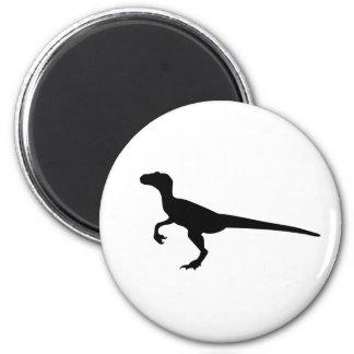 Velociraptor del dinosaurio imán para frigorifico