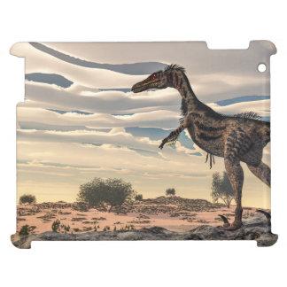 Velociraptor dinosaur - 3D render iPad Cover