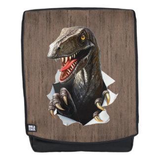 Velociraptor Dinosaur Boldface Backpack