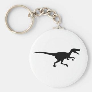 Velociraptor Dinosaur Keychains