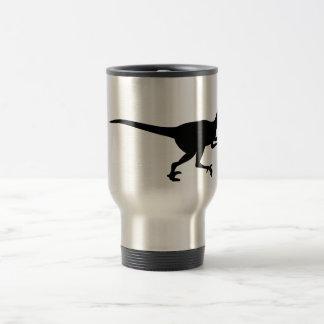 Velociraptor Dinosaur Travel Mug