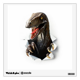 Velociraptor Dinosaur Wall Decal