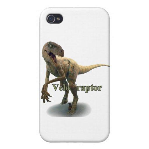 Velociraptor iPhone 4 Carcasa