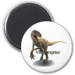 Velociraptor Imán Redondo 5 Cm