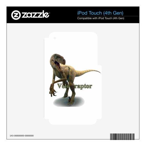 Velociraptor iPod Touch 4G Skin