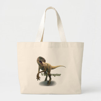 Velociraptor Jumbo Tote Bag