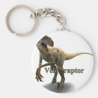 Velociraptor Keychain