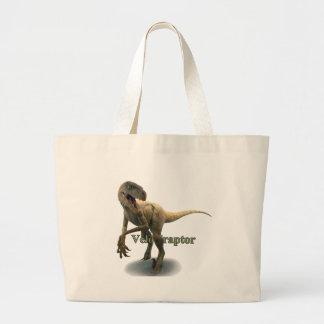 Velociraptor Large Tote Bag