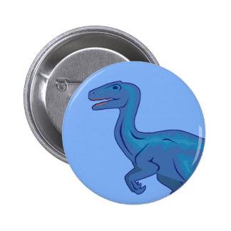 Velociraptor Pinback Button