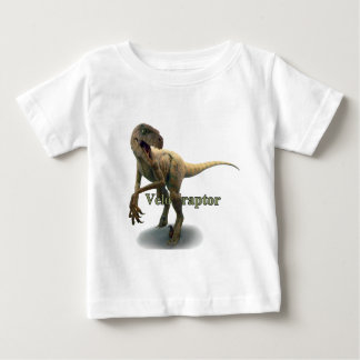 Velociraptor Playera De Bebé