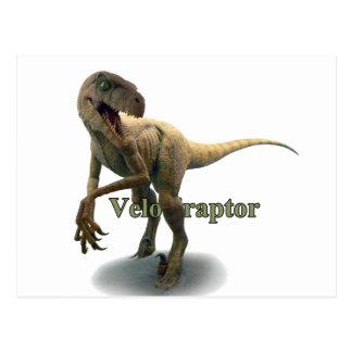 Velociraptor Postcard