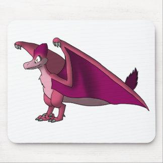 Velociraptor/Quetzalcoatlus - mora/cualquier color Alfombrilla De Ratón